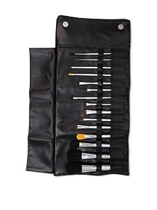 Beaute Basics 15 Piece Professional Brush Set with Case