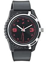 Fastrack Black Dial Watch For Men-3114PP03