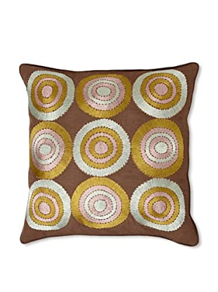 Design Accents 9 Circles, Brown, 20