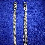 Gold Non-Precious Metal Fashion Hoop Earring