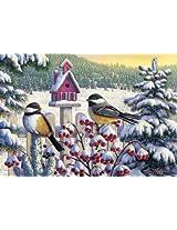 Masterpieces 71434 Berry Snowy Puzzle 1000 Piece