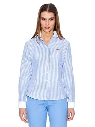 Spagnolo Camisa Oxford Diva (Azul)