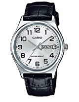 Casio Enticer Analog White Dial Men's Watch - MTP-V003L-7BUDF(A924)