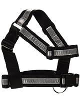 Mendota Heavy Duty Tracking Reflective Harness, One Size, Black