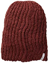 Coal Men's Thrift Knit Unisex Beanie, Brick Red, One Size