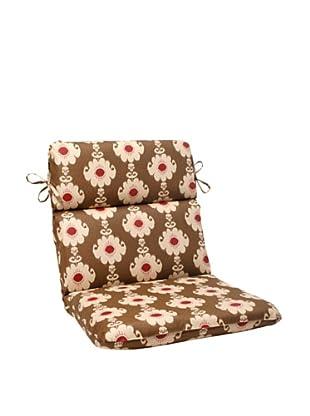 Waverly Sun-n-Shade Rise and Shine Henna Chair Cushion (Red/Brown/Tan)