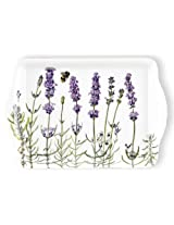 Ashdene I Love Lavender Bone China 6-Inch Cocktail/Cake Plate in Gift Box