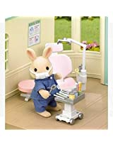 Calico Critters CC1405 Country Dentist Set Playset