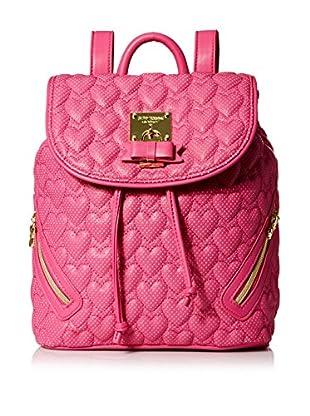 Betsey Johnson Women's Always Be Mine Backpack, Pink