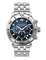 Giordano Chronograph Blue Dial Men's Watch - P165-33