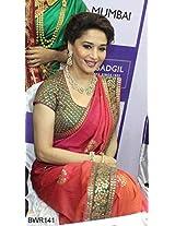 Madhuri Dixit In Georgette Replica Saree