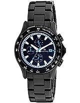 Maxima Chronograph Black Dial Men's Watch - 32532CMGB