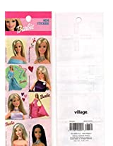 Lot 7 Pcs Barbie Stickers Decal Collectible