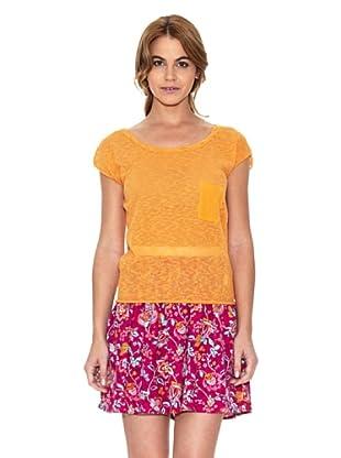 American Vintage Camiseta Bolsillo (Mango)