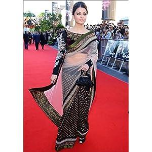 Aishwarya Rai Viscose Bollywood Replica Saree By Arisha 107