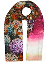 Shopatplaces Cashmere Stole In Multi Color
