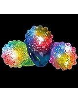 Light-Up LED Jelly Bumpy Ring