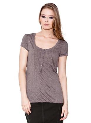 Esprit Camiseta Henley (Topo)