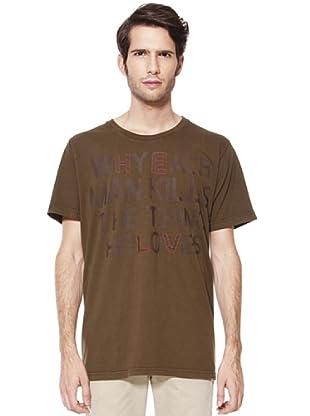 Caramelo Camiseta (caqui medio)