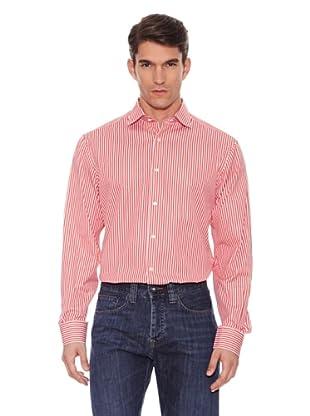 Hackett Camisa Rayas (Rojo)