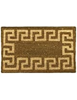"Sparta Outdoor Coir Door Mat - 18"" x 30"" Decorative House Door Mat"