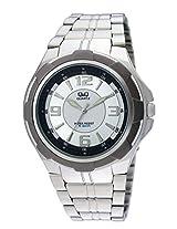 Q&Q Analog White Dial Men's Watch - Q252N404Y