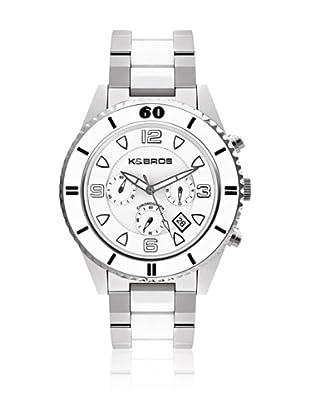 K&Bros  Reloj 9136 (Blanco)