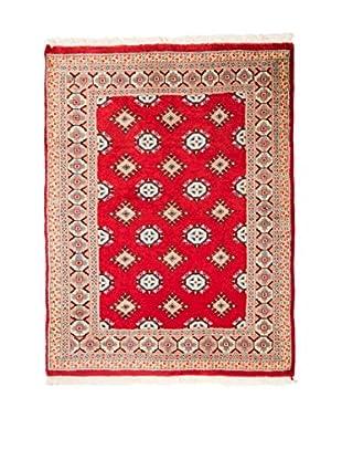 RugSense Alfombra Kashmir Rojo/Beige 132 x 95 cm