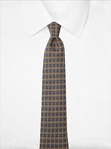 Hermès Men's Circle Link Tie, Blue, One Size