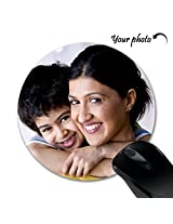Personalized HuppmeTM Printed Round Mouse Pad
