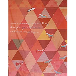 Iktaara Orange Bar - Blanket