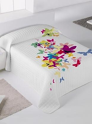Kashi Kisu By Reilly Colcha Bouti Butterfly (Multicolor)