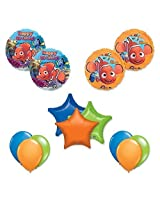 Finding Nemo 13 Pc Birthday Party Balloon Decoration Kit
