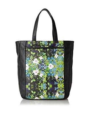 Charlotte Ronson Women's Floral Tote, Black