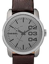 Diesel Brown Leather Men Watch DZ1467