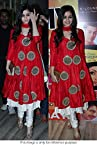 Bollywood Replica Alia Bhatt Moss Velvet Suit In Red Colour NC844