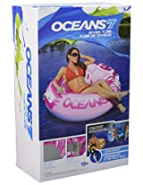 Ocean 7 Round River Blueberry Tube Mesh Seat