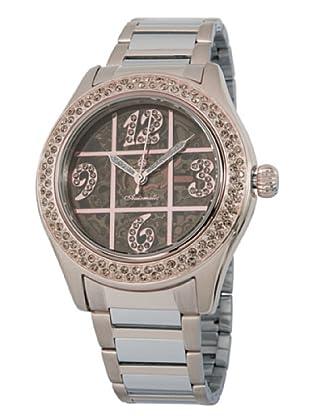 Burgmeister Damen-Armbanduhr Sunshine Analog Automatik Edelstahl beschichtet BM170-397