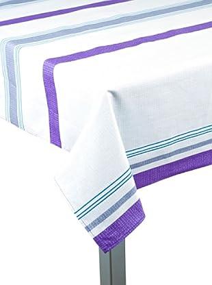 Alba Mantelería Impenetrable Lines (Púrpura)