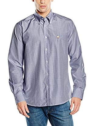 POLO CLUB Camisa Hombre Gentle White Trend Top