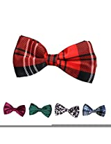 DBFF0017 Multi- Satin Boys Pre-Tied Bow Ties Set For Birthday - 5 Styles Available By Dan Smith