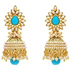 Muchmore Brass Jhumki Earring For Women (Gold)