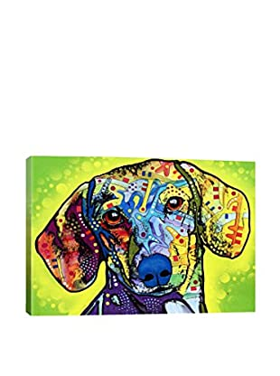Dean Russo Dachsund Gallery Wrapped Canvas Print