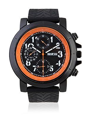 Sparco Uhr James schwarz/orange 42 mm