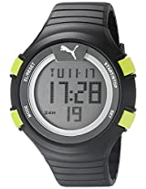 PUMA Unisex PU911281001 Faas 100 L black yellow Digital Display Watch