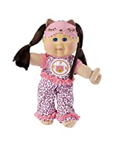 """Cabbage Patch Kids Glow Party: Brunette Hair, Caucasian Girl 14"""" Doll"""