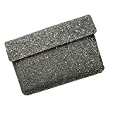 I-KitPit : PU Glitter Sparkling Leather Pouch Case For Samsung Galaxy Note 10.1 (WHITE)