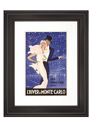 L'Hiver a Monte Carlo, 16 x 20