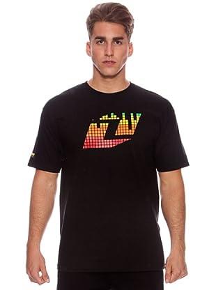 One Industries Camiseta Tetris Icon (Negro)