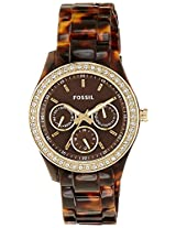 Fossil ES2795 Analog Women's Watch-Brown